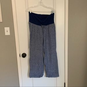 Old Navy Maternity linen pants